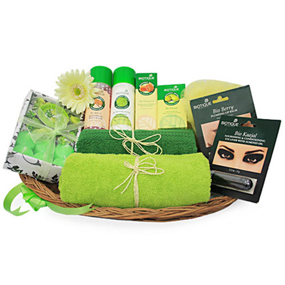 A spa hamper