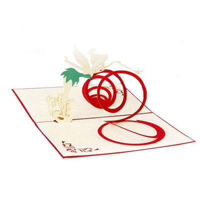 A 3D Souvenir Greeting Card