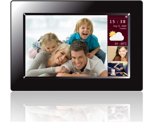 A digital photo frame