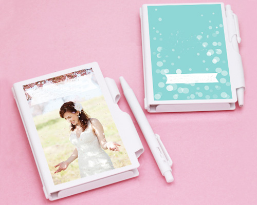 A personalized notebook