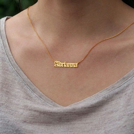 Name necklace, Name Jewelry