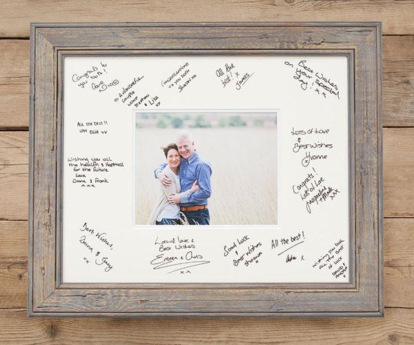 Photo Frame of Signatures