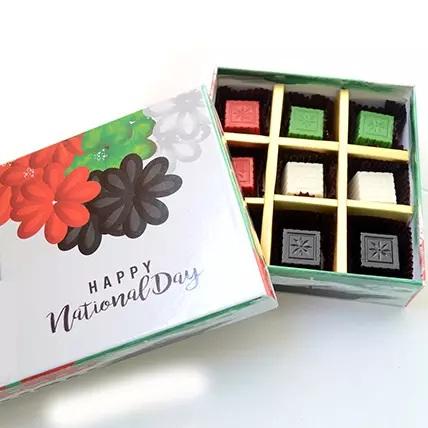 Customized Chocolates Message, Chocolate Gift Box