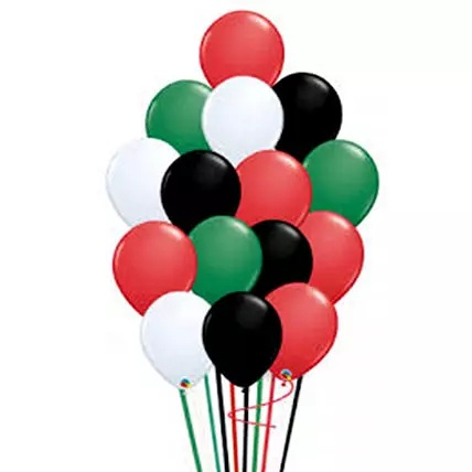 U.A.E National Day Balloons