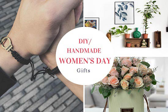 diy handmade women's day gift ideas