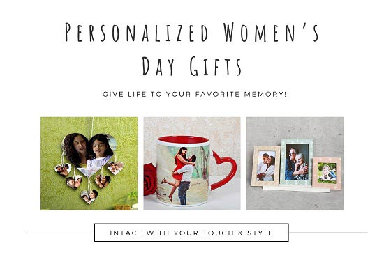 Personalized Women's Day Gift Ideas