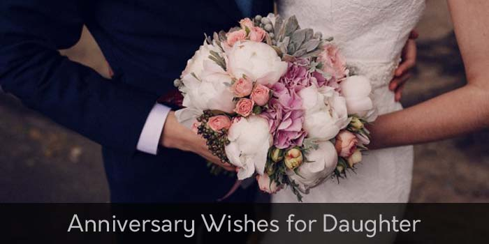 Anniversary wishes for daughter