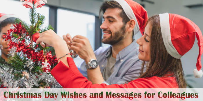 Christmas Messages for Colleagues