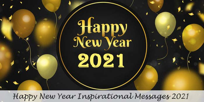 Happy new year inspirational messages
