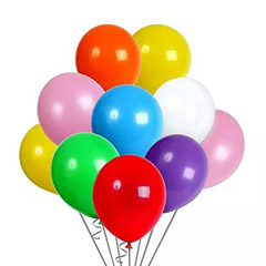 Colourful Helium Balloons