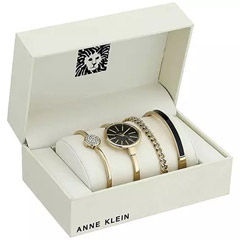 4 Piece Ladies Set Anne Klein Black Color