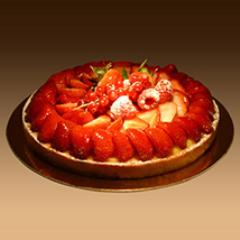 Strawberry Tart 8 Portion