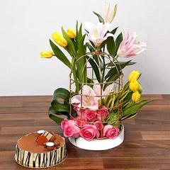 Sentimental Blooms Combo