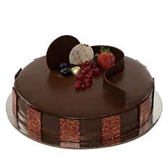 Eggless Chocolate Truffle Cake 1 Kg