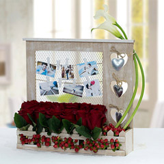 Facinating Personalized Flower Arrangement