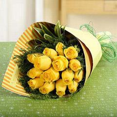Gracious Flower Bouquet In Paper Packing