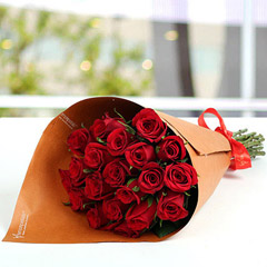20 Red Roses Bunch