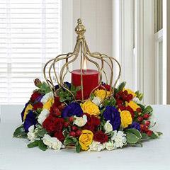 Tempting Centertable Flower Arrangement