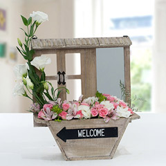 Exquisite Rose N Alstromeria Flower Arrangement