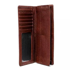Leather Passport BiFold Wallet
