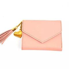 Pink Tassel Wallet