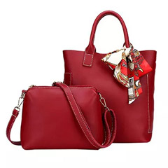Set of 2 Red Bags