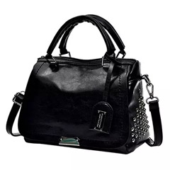 Graceful Black Shoulder Bag