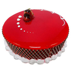 Attractive Strawberry Carnival Cake (500gm)