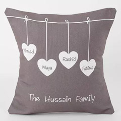 Family Love Personalized Cushion