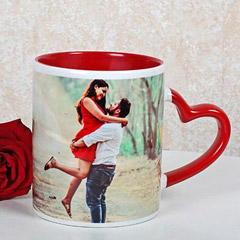 Red And White Personalized Mug