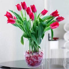 Glowing Tulip Bouquet
