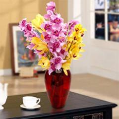 Colourful Cymbidium Bouquet