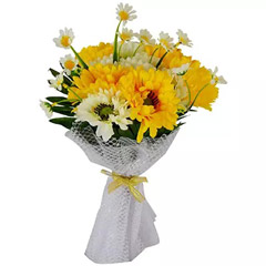 Artificial Gerberas Bouquet