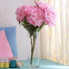 Silk Pink Peonies