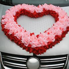 Love with Car Décor