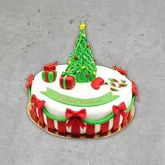 Christmas Tree Special Cake