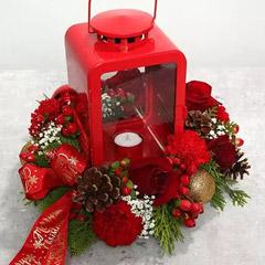 Roses and Carnations Flower Arrangement