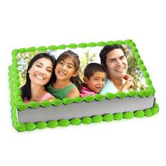 Special Photo Cake 1 Kg Truffle Cake