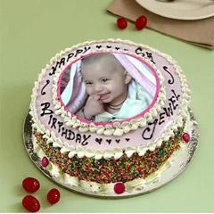 Enticing Photo Cake