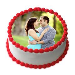 Delightful Personalized Cake 1 Kg Truffle Cake