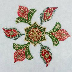 Meenakari Rangoli Pattern