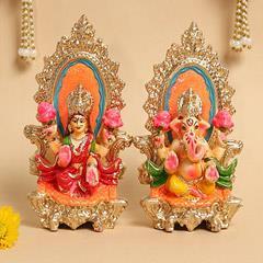 Lakshmi Ganesha Idols