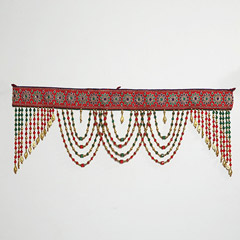 Red and Green Beads Bandhanwar