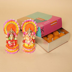 Motichoor Laddoo and Idols Combo