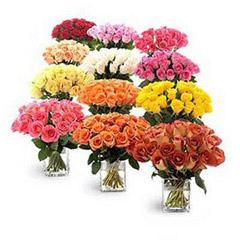 Twelve Bouquets Of Roses