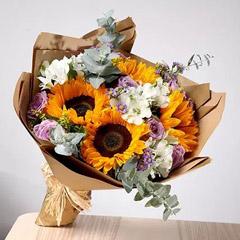 Splendid Bouquet Of Mixed Flowers