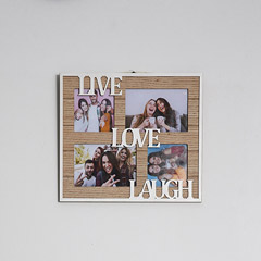 Live Love and Laugh Photo Frame