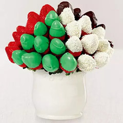 National Day Strawberries Arrangement