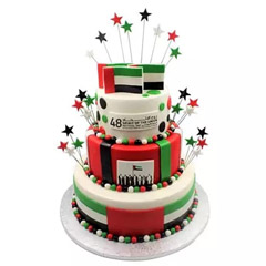 National Day Special 3 Tier Cake