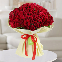 150 Red Roses Bouquet